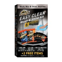 ARMOR ALL EASY CLEAN WASH & SHINE KIT 6 PCS