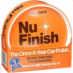 NU-FINISH CAR POLISH PASTE