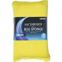 VIKING CAR CARE BUG & MESH CLEANING SPONGE 15CM