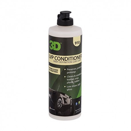 3D LEATHER VINYL & PLASTIC CONDITIONER - 473ML
