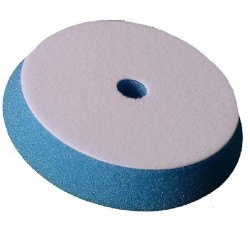 "BLUE COARSE HEAVY CUTTING FOAM PAD 5"""" LOOP DIA X 1"""" THICK WITH COOLING HOLE"